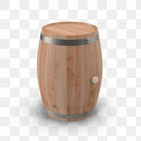 Bucket - Beer Barrel Oak Bucket PNG