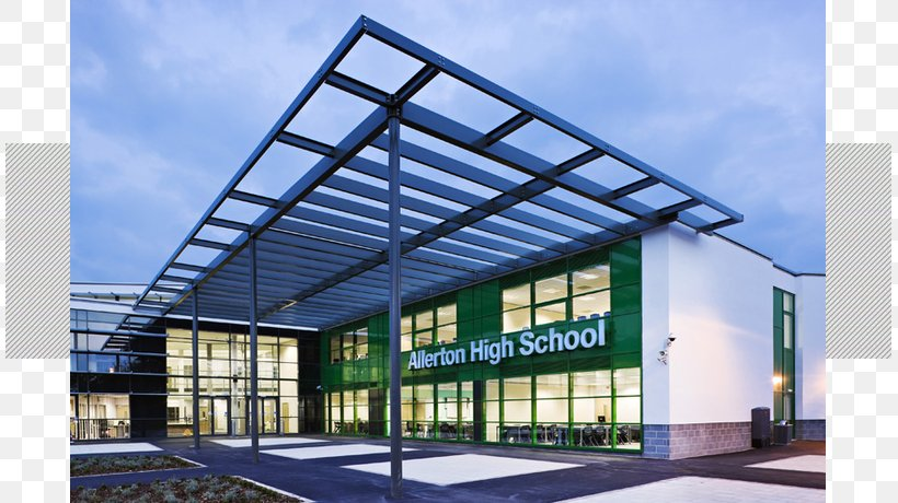 Allerton High School Architecture National Secondary School Roof, PNG, 809x460px, Architecture, Architect, Building, Commercial Building, Community School Download Free