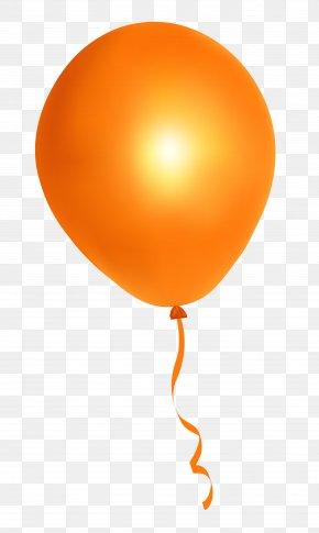 Orange Balloon - Balloon Orange PNG