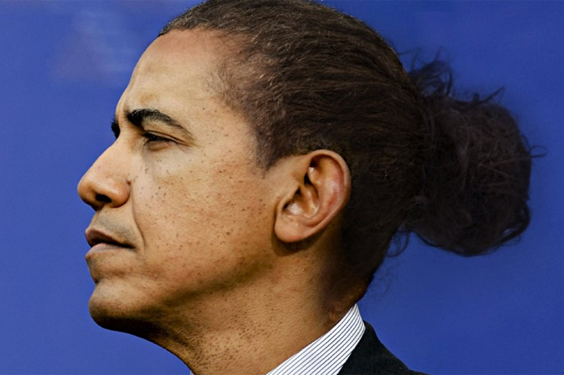 Barack Obama United States Bun Politician Hairstyle, PNG, 1200x800px, Barack Obama, Afrotextured Hair, Bill Clinton, Bun, Cheek Download Free