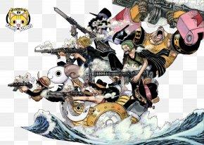 One Piece - Monkey D. Luffy Roronoa Zoro Vinsmoke Sanji Usopp The Art Of Shonen Jump: One Piece Color Walk, Volume 1 PNG