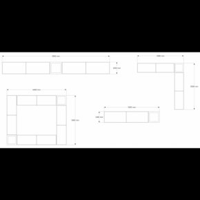 Stone Bench - Product Design Floor Plan Furniture Line Angle PNG