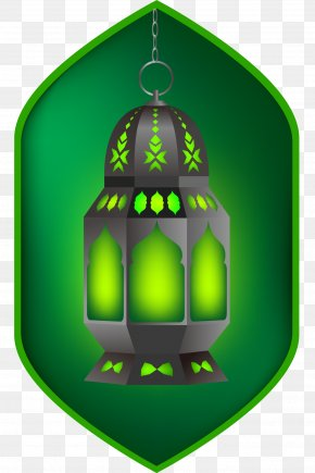 Vector Green Magic Lamp Material - Ramadan Eid Mubarak Eid Al-Fitr Islam PNG