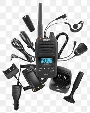 Radio - UHF CB Ultra High Frequency Citizens Band Radio Two-way Radio PNG