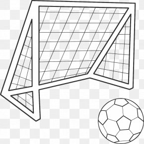 Football - Goal Coloring Book Football Colouring Pages PNG
