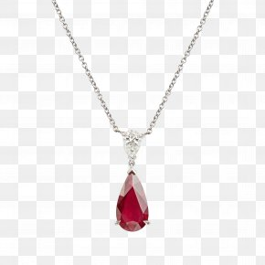 Creative Necklace - Ruby Charms & Pendants Carat Necklace Jewellery PNG