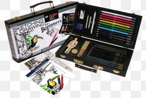 Art Supplies - Drawing Pencil Art Watercolor Painting Sketch PNG