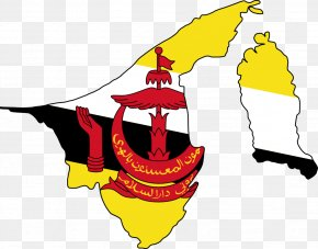 Chinese New Year Clipart - Flag Of Brunei Limbang Map PNG