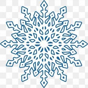 Beautiful Winter Snowflake Creative - Snowflake Winter PNG
