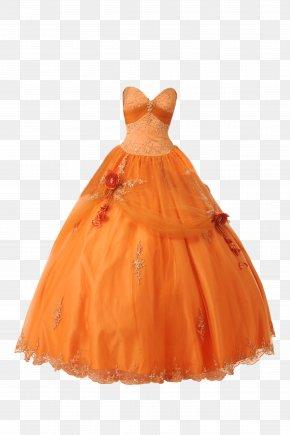 Dress - Dress Orange Wedding Clothing Red PNG