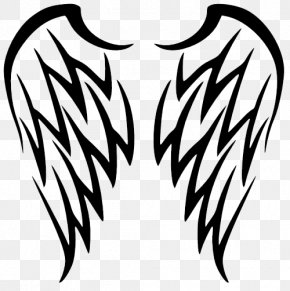 Wings Tattoos Free Download - Sleeve Tattoo Wing Tribe Lower-back Tattoo PNG