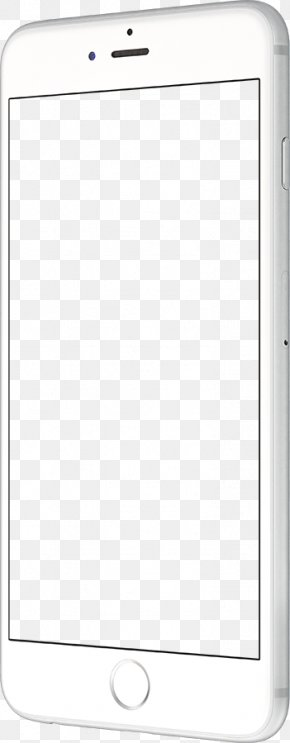 White Apple Phone - Angle Text Messaging Pattern PNG