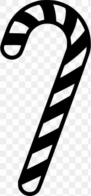 Candy - Candy Cane Stick Candy PNG