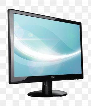 Monitor - Computer Monitor Video Card LED-backlit LCD 1080p PNG