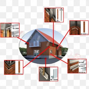 Kindergarten Decorative Panels - House Window Roof Wall Architecture PNG