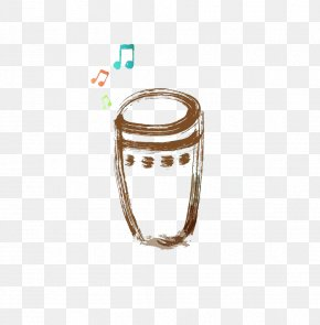 Hand-painted Simple Drums - Bongo Drum Musical Instrument Stock Illustration PNG