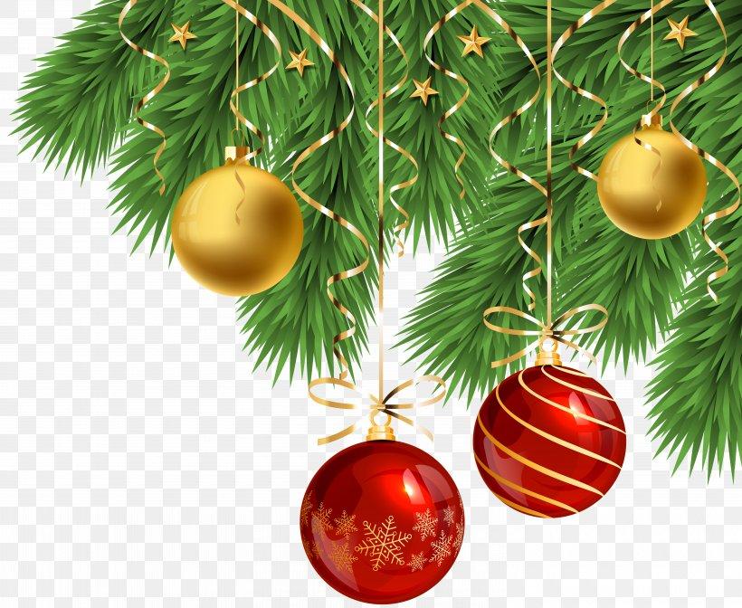 Christmas Tree Christmas Ornament Clip Art Christmas Santa Claus, PNG, 6000x4923px, Christmas Tree, Art, Branch, Christmas, Christmas Day Download Free