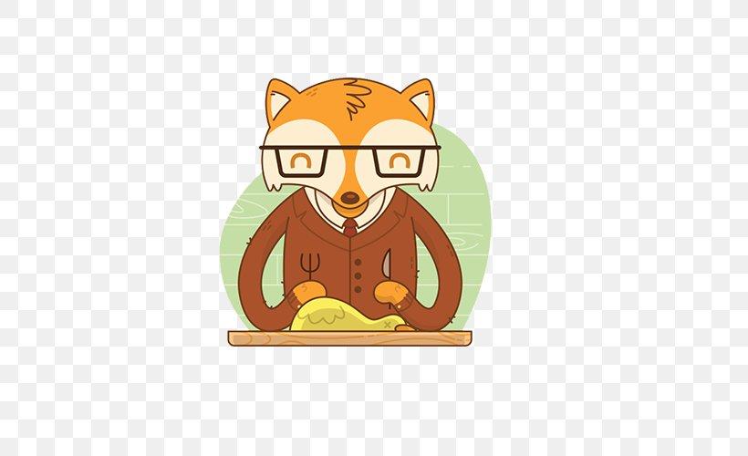 Fantastic Mr Fox Illustrator Illustration Png 500x500px Fantastic Mr Fox Canidae Carnivoran Cartoon Cat Like Mammal