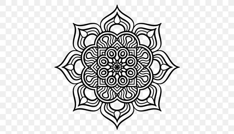 Mandala Coloring Book Islamic Art Drawing Png 600x470px