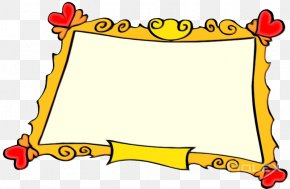 Rectangle Picture Frame - Watercolor Background Frame PNG