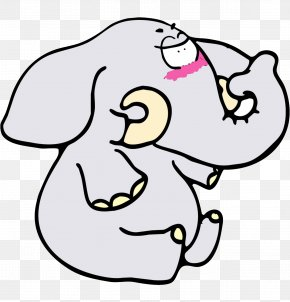 Cartoon Baby Elephant - Cartoon CSDN PNG