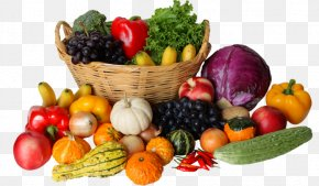 Vegetable - Fruit Vegetable Basket Clip Art PNG