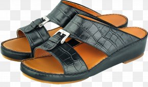 Leather Sandals Image - Sandal Slipper Shoe Leather Flip-flops PNG
