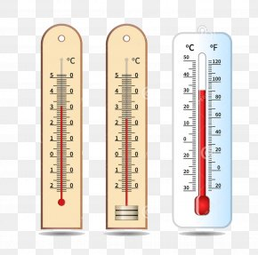 Cute Thermometer - Thermometer Temperature Measuring Instrument Illustration PNG