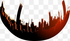 Red Circle City - Download Icon PNG