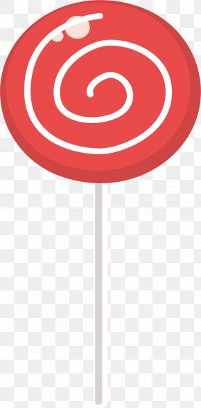 Red Spiral Lollipop - Lollipop Spiral PNG