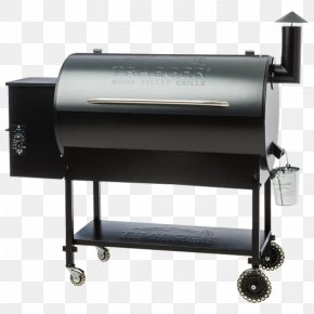 Barbecue - Barbecue Pellet Grill Traeger Pro Series 34 Traeger Large Commercial Trailer Smoking PNG