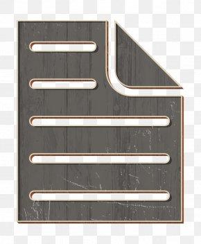 Metal Rectangle - Doc Icon Document Icon Fez Icon PNG