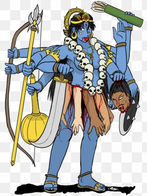 Durga Maa - Fiction Cartoon PNG
