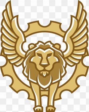 Flying Lion - Winged Lion PNG