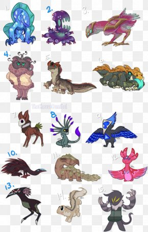 Animal Character With A Bow - Animal Legendary Creature Clip Art PNG