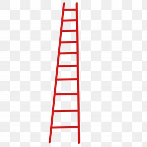 Red Ladder - Ladder Red PNG