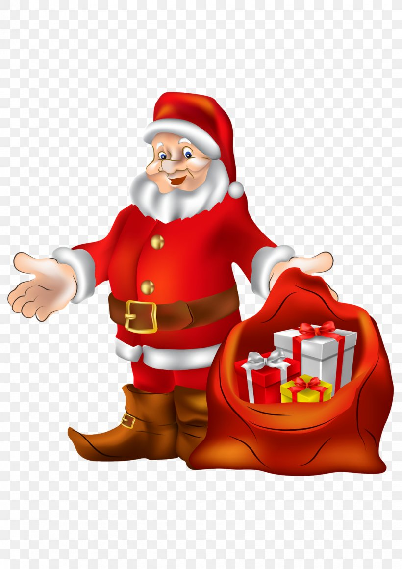 Santa Claus Clip Art Christmas Day Gift Image, PNG, 1131x1600px, Santa Claus, Christmas, Christmas Day, Christmas Decoration, Christmas Ornament Download Free