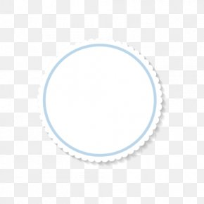 Simple Circular Frame Text Box - Text Box Circle PNG
