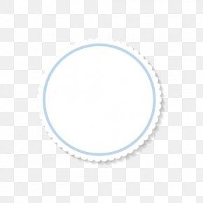 Simple Circular Frame Text Box - Text Box Circle PNG