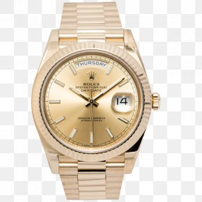 Rolex Daydate - Watch Rolex Counterfeit Consumer Goods Brand Shop PNG