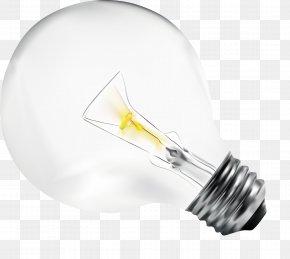 Vector Light Bulb Illustration - Incandescent Light Bulb Euclidean Vector Illustration PNG