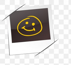 Smiley Face On The Frame - Picture Frame Photography PNG