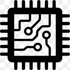 Computer - Integrated Circuits & Chips Central Processing Unit Computer Hardware Clip Art PNG