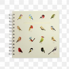 Notebook - Notebook Paper Our Garden Birds PNG