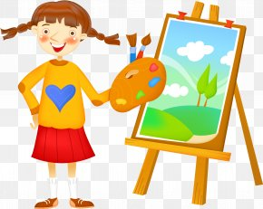 Painting - Painting Easel Art Clip Art PNG