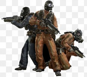 Gas Mask With A Gun Person - Call Of Duty: Modern Warfare 3 Call Of Duty: Advanced Warfare Call Of Duty 4: Modern Warfare Call Of Duty: Modern Warfare 2 Call Of Duty: Black Ops PNG