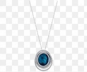 Swarovski Jewelry Women Necklace Blue - Locket Necklace Body Piercing Jewellery Turquoise PNG