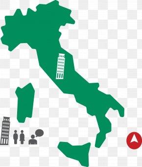 Italy Travel Map - Kingdom Of Italy Globe World Icon PNG