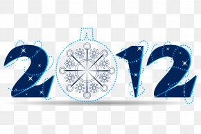 Happy New Year - New Year's Day Christmas Ornament PNG