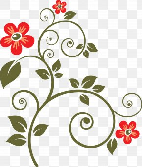 Flower - Vector Graphics Clip Art Floral Design Floral Ornament CD-ROM And Book PNG